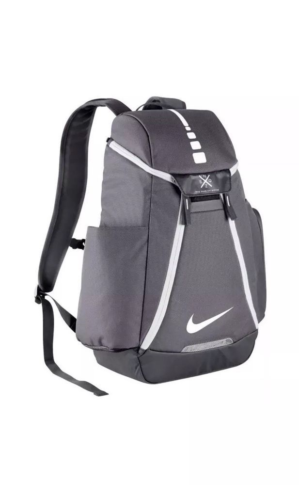3ec5709a505 Nike Hoops Elite Max Air 2.0 Backpack GREY BA5259-041 BASKETBALL SCHOOL BAG  #Nike #Backpack