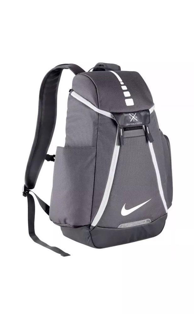 Nike Hoops Elite Max Air 2.0 Backpack GREY BA5259-041 BASKETBALL SCHOOL BAG   Nike  Backpack 103f667b5f