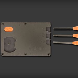 With Gerber's Bear Grylls Card Tool in your pocket, you never have to worry about being unprepared again.