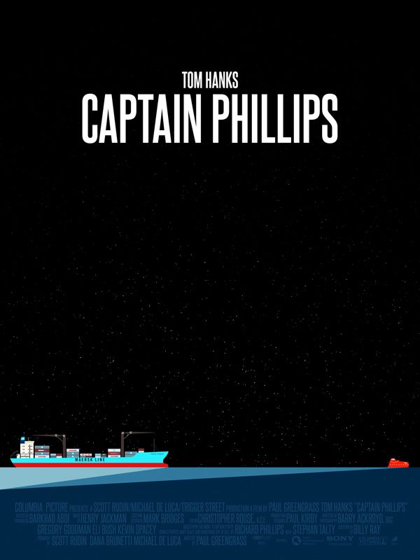 """I'm the captain now"" - I can never tire of Tom Hanks, especially not when the movie is as fraught and tense as Captain Phillips."