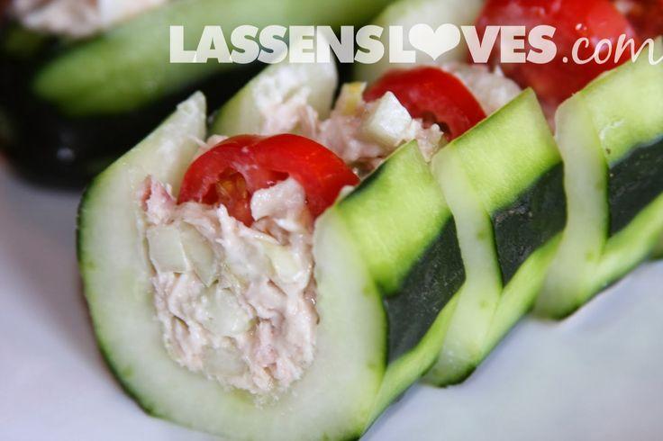 lassensloves.com, Lassen's, Lassens, cucumber tuna boats