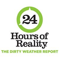 Join The Climate Reality Project November 14 for 24 Hours of Reality: The Dirty Weather Report. http://ClimateRealityProject.org