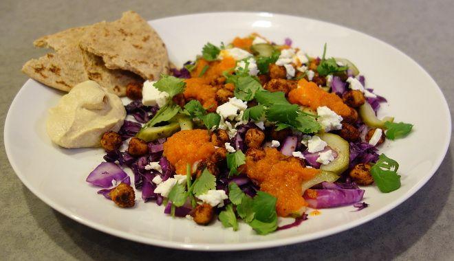Ny gulerods-idé: Ristet gulerodsdressing med appelsin og spidskommen