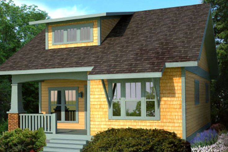 Front Elevation Craftsman : Craftsman style house plans houses and