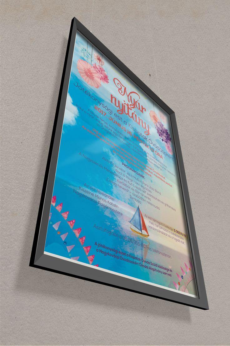 Kispatak Óvoda Jótékonysági bál plakát