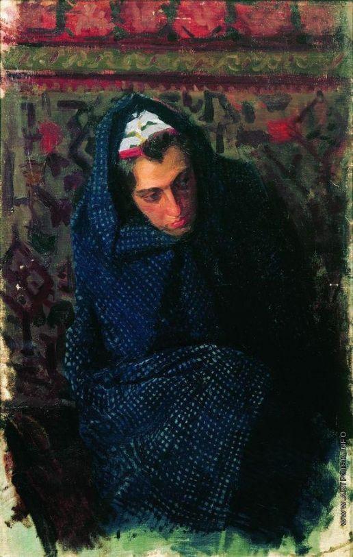 Кустодиев Б. М. Женский портрет