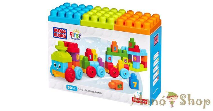 Mega Bloks 123 számvonat (DKX60)