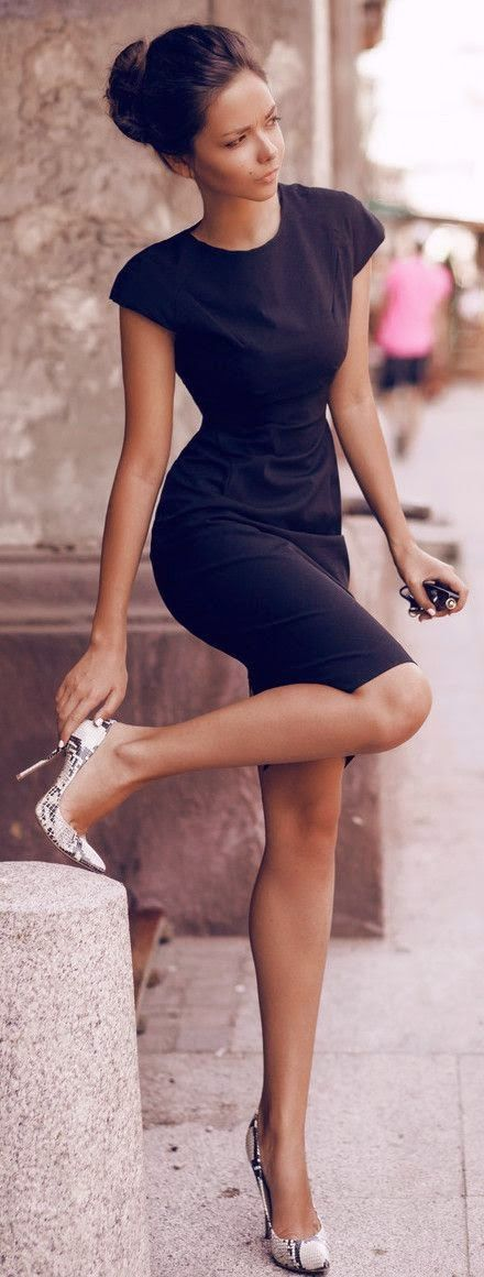Style a black dress $7