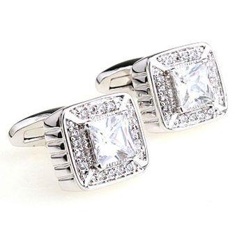 Deks Bros White Crystal Great Kol Düğmesi-Taşlı Kol Düğmeleri-DEKS BROS-DEKS BROS WHITE CRYSTAL GREAT KOL DÜĞMESİ-Taşlı Kol Düğmeleri-DEKS BROS-Kol Düğmesi, Kravat, Gömlek, hediye ve tüm aksesuar çeşitleri