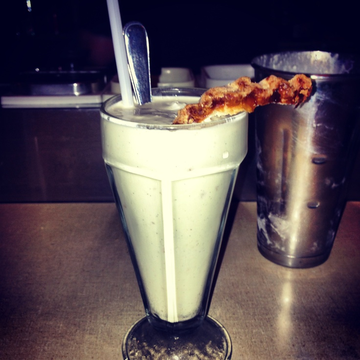 Apple Pie Milkshake at The Lakeview in Toronto