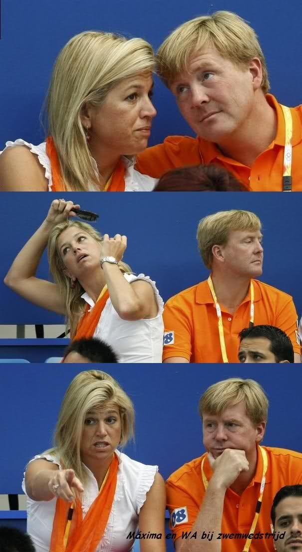 prinses maxima Olympische Spelen 2008