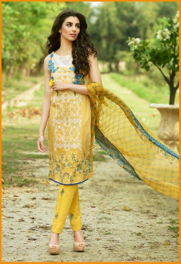 Firdous Embroidered Exclusives Lawn Collection 2016 Magazine #Firdous #LawnCollection #Embroidered #Summer #Dresses