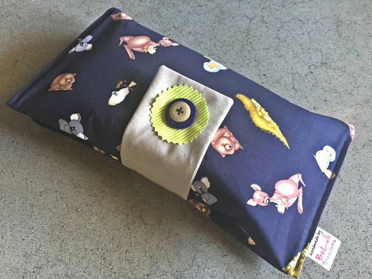 Baby or toddler funky nappy/diaper wallet.Custom made to create a unique item for you