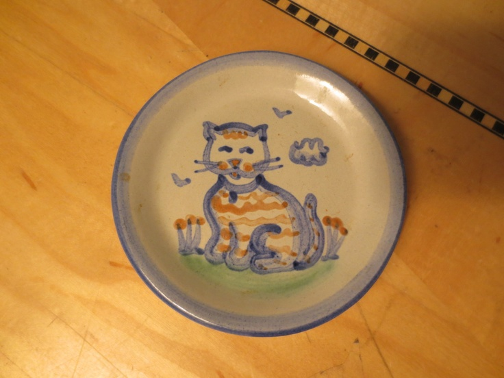 Poole Pottery Black Cat