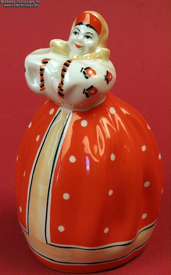 Collect Russia Woman Dancer in a Scarlet Dress, Korosten Porcelain Factory, delightful porcelain figurine looks like a character from a story by Tolstoy, 1955-1959. Soviet Russian