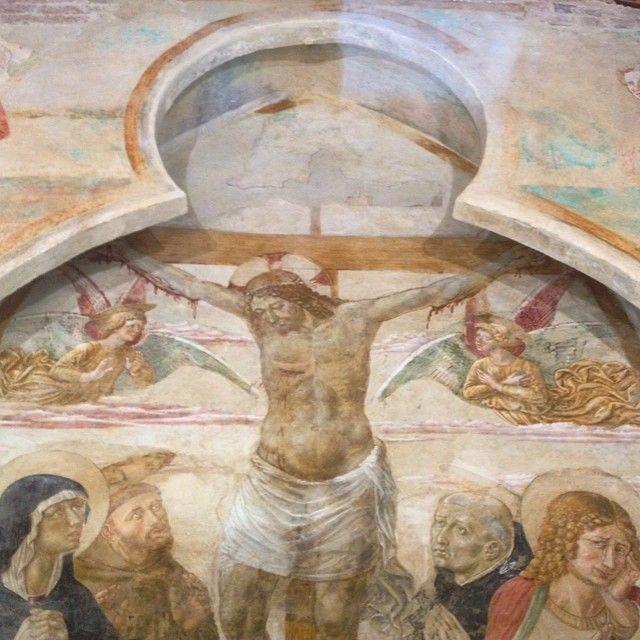 #Legoli #affreschi di Benozzo #Gozzoli #toscanadascoprire #Peccioli