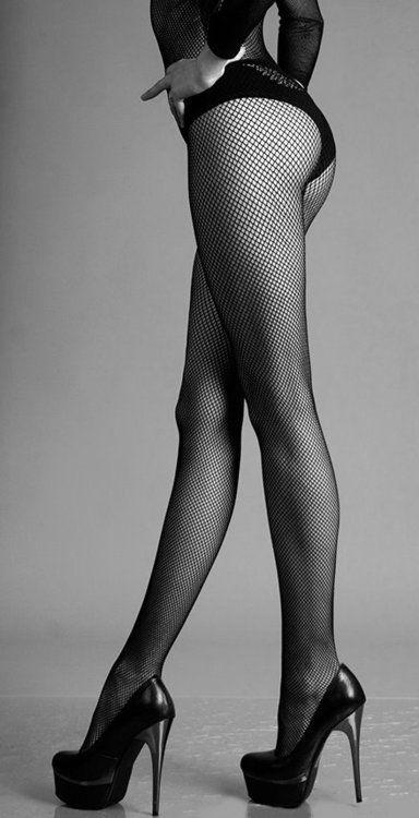 Stockings and heels - hmmmm.....