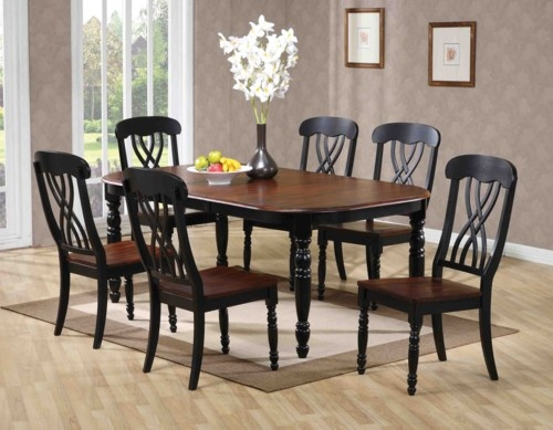 Two Tone Table Dining Tables Pinterest