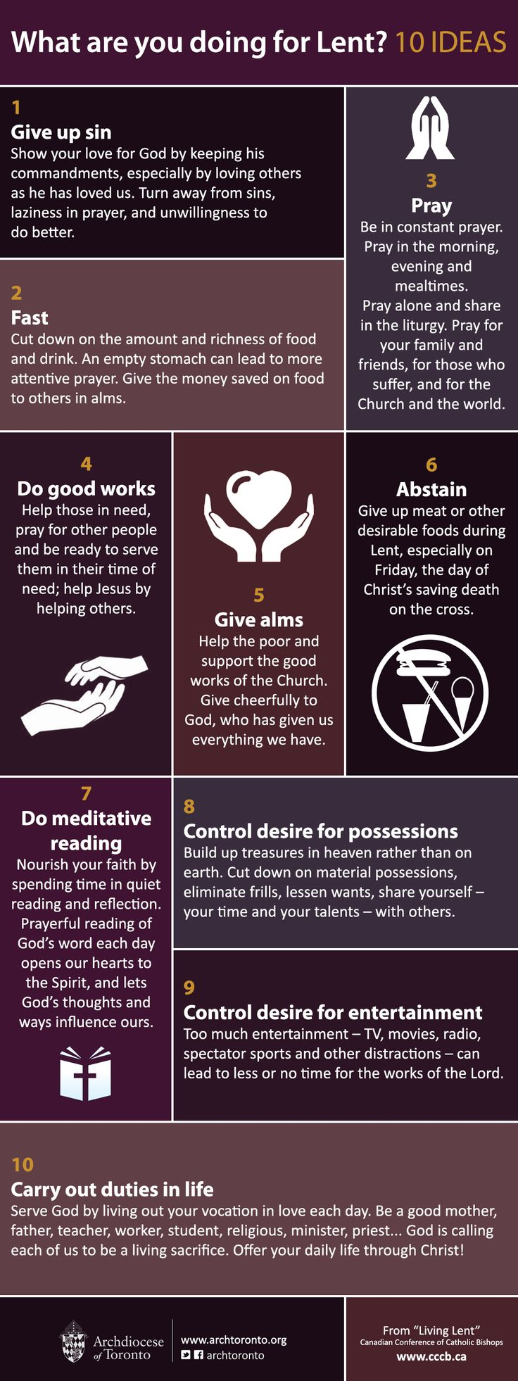 17 Best Ideas About Catholic Lent On Pinterest Lent
