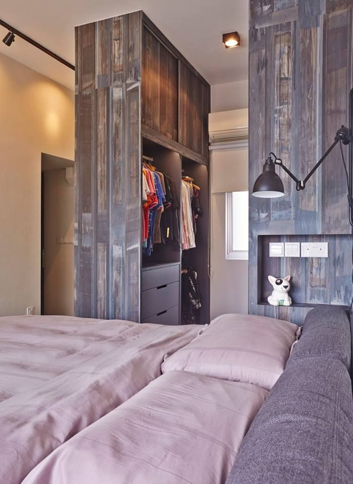 8 Ways To Squeeze A Walk In Wardrobe In Your Hdb Bedroom No Wall Hacking Required Remodel Bedroom Guest Bedroom Remodel Small Bedroom Remodel