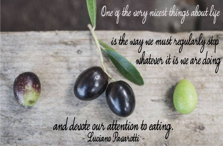 Eating and devotion. #Laudemio #quote
