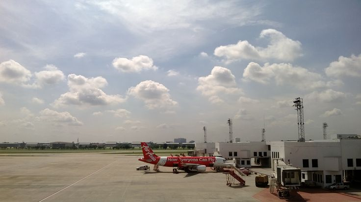 Donmuang international airport, Bangkok Thailand