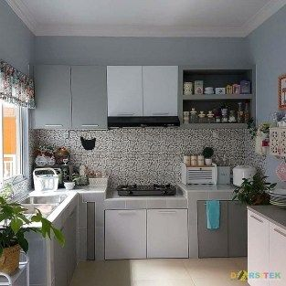 Warna Cat Dapur Yg Cerah