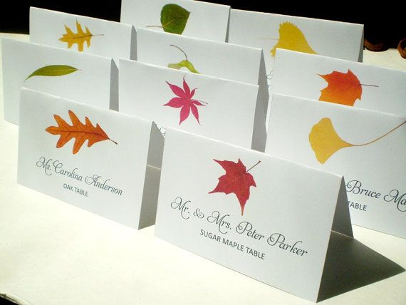 Instant Download Printable Diy Assorted Fall Tree Name
