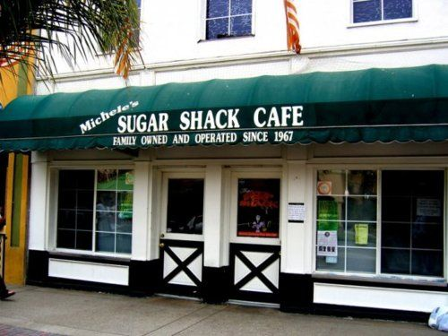 Sugar Shack Huntington Beach, California. Known for their delicious breakfast served all day! My favorite!!!
