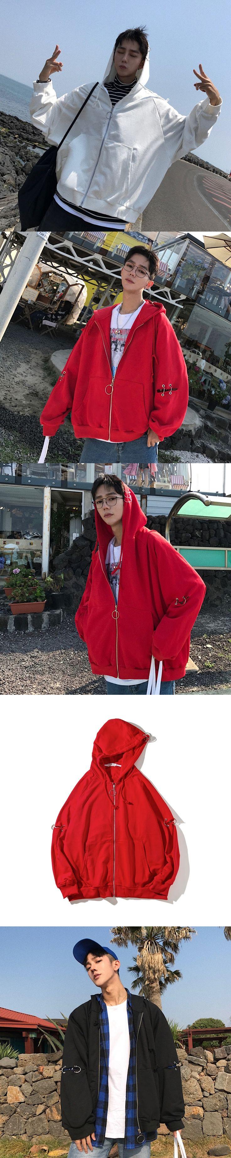 2017 Brand Autumn And Winter Leisure Tide Male Cardigan hoodies men sweatshirt tracksuit hooded zipper Casual Tops New Hoody