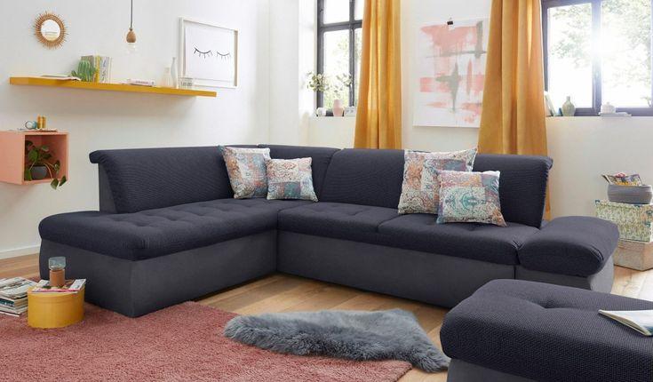 Die besten 25+ Blaue ecksofas Ideen auf Pinterest Sofa, blaue - wohnzimmer gelb blau
