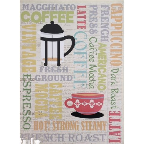 Coffee Words Hanging Wall Art Plaque