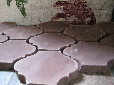 Gorgeous hearth tiles