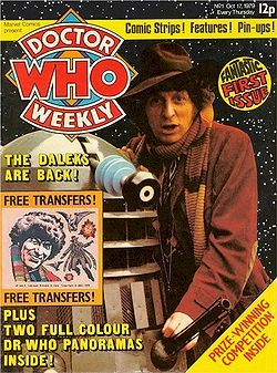 For the Love of Iron-Ons! (Transfers) and Tom Baker