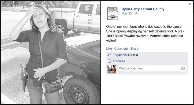 Open-Carry Gun Activist Arrested for Killing Husband and Stepdaughter  This is the opposite of #Gunsense  http://ozhealthreviews.com/health/gun-violence/