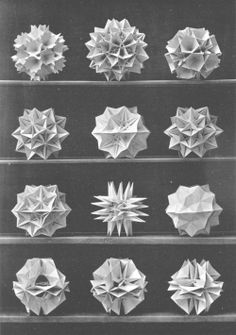 Folded origami decoration // Accordion folding   Mini-eco