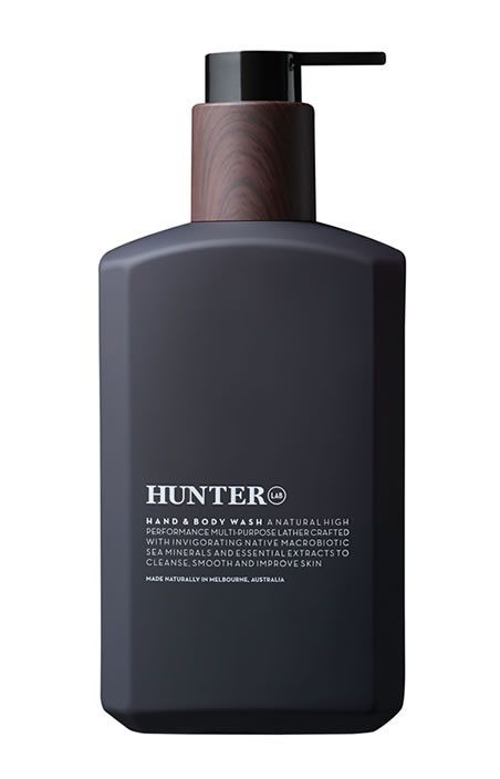 packaging / Hunter Lab Hand & Body Wash: