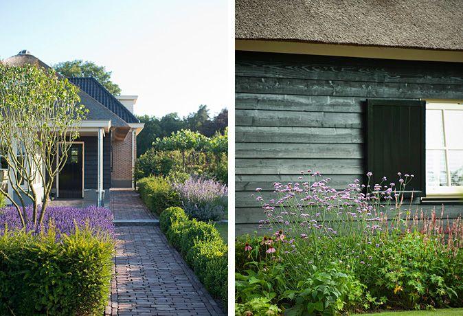 Tuinontwerp tuinaanleg tuinonderhoud modern klassiek landhuis met - Eigentijds pergola design ...