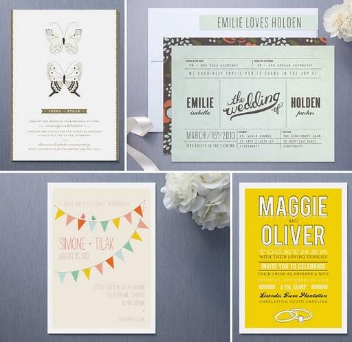 Wedding industrial invites