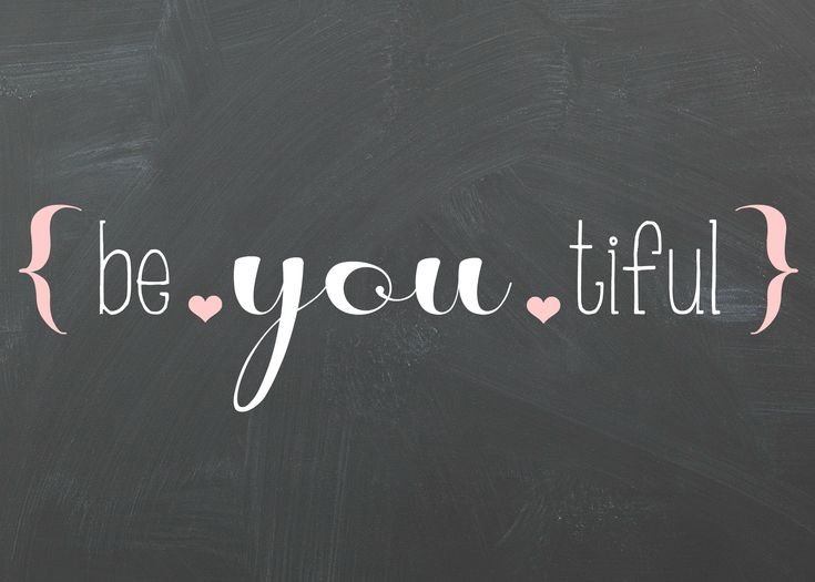 Free be * you * tiful word art printable.