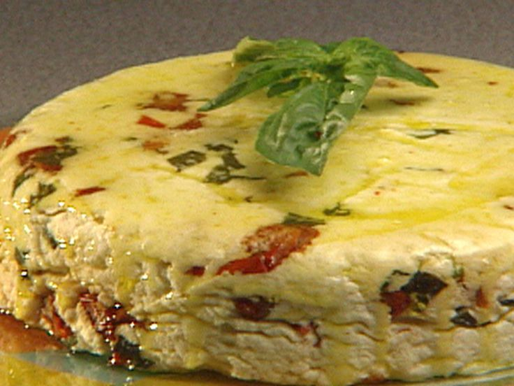 George's Mom's Homemade Herb Cheese recipe from Ham on the Street via Food Network