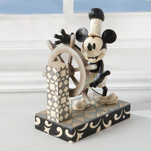 STEAMBOAT WILLIE/MICKEY STATUE