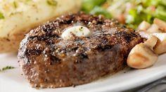 Filete de #res en mantequilla de #ajo Se acerca el día más romántico del año, sorprende a tu pareja con una cena súper gourmet llena de un exquisito sabor