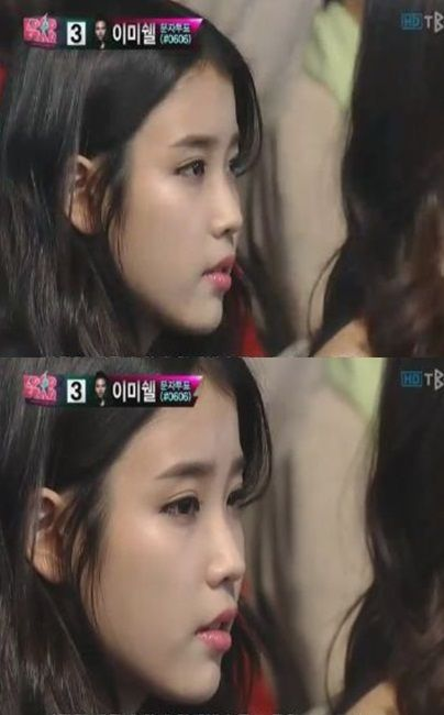 IU spotted in the audience on 'K-Pop Star' + performances by the 'Top 8′ #allkpop #IU