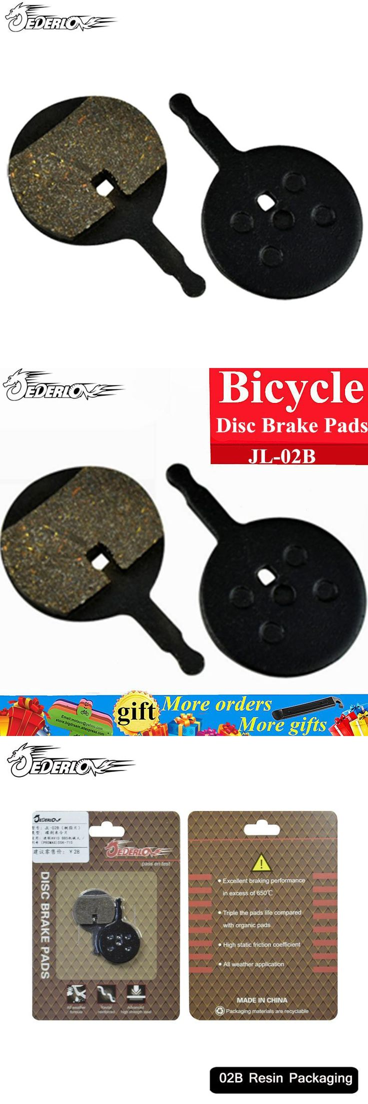 [Visit to Buy] Bicycle Disc Brake Pads for Line pulling Disc Brake AVID BB5, Giant, Merida Bike, Promax Disc Brake Resin Pads Bicycle parts #Advertisement