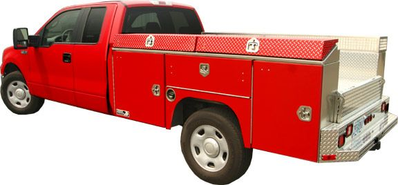 Utility Body For Service Industry Truck Storage Truck Bed Trucks