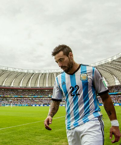 Ezequiel Lavezzi - Team Argentina