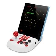 Discovery Bay Atari Arcade for iPad 앱을 프로모션할 때, 이렇게 연동되는 하드웨어를 제공하는 것이라면 재미난 반응을 이끌어 낼 수 있지 않을까?