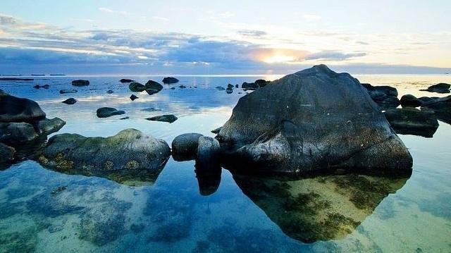 Sunset at Le Victoria - Mauritius Seascape - via Flickr.