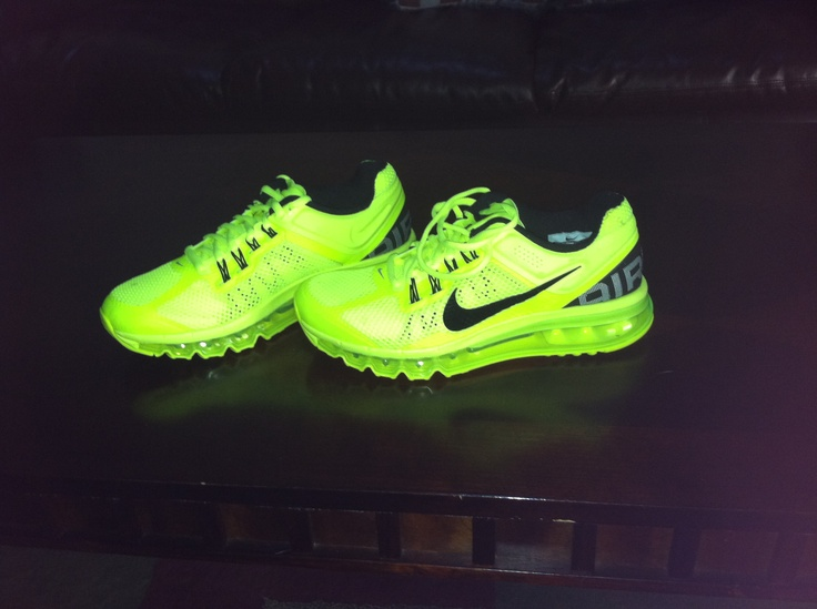 I want a pair of neon running shoes. Maybe that will inspire me to run lol